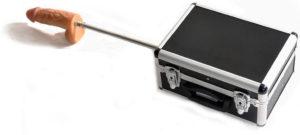 Sexmaschine im Koffer mit Fernbedienung